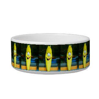 HAPPY YELLOW BANANA PET DISH