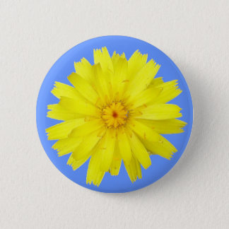 Happy Yellow Dandelion image Button