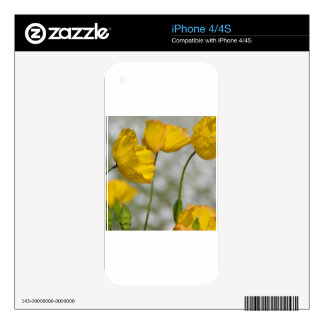 Happy yellow iPhone 4 skin