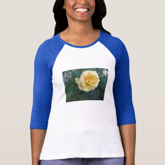 Happy Yellow Rose T-Shirt
