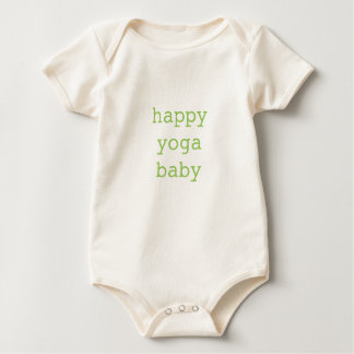 Happy Yoga Baby Organic Bodysuit