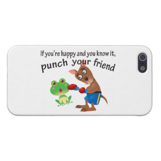 Happy & You Know It Punch Your Friend Case For iPhone SE/5/5s
