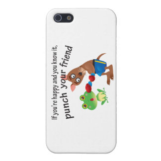 Happy & You Know It Punch Your Friend iPhone SE/5/5s Cover