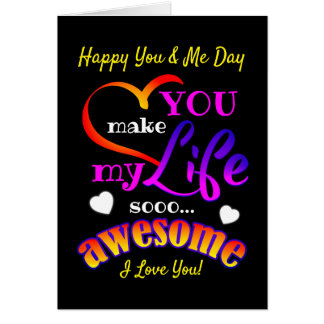 Happy (Your Text / Editable) Day Card