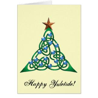 Happy Yuletide Card