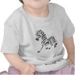 Happy Zebra Tee Shirt