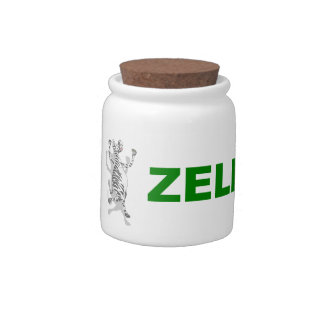 Happy Zebra ZELEBRATE Candy Dishes