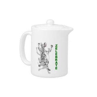 Happy Zebra ZELEBRATE Teapot