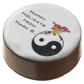 Happy Zen Holiday Chocolate Covered Oreo