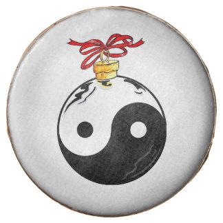 Happy Zen Holiday Chocolate Dipped Oreo