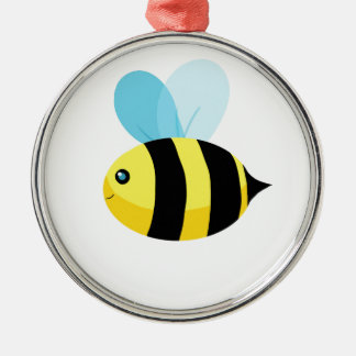 HappyBee Collection Metal Ornament