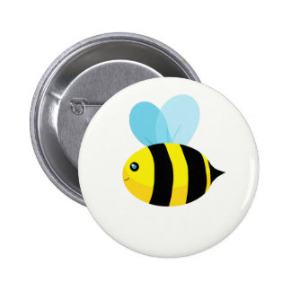 HappyBee Collection Pinback Button