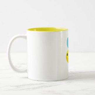 HappyBee Collection Two-Tone Coffee Mug