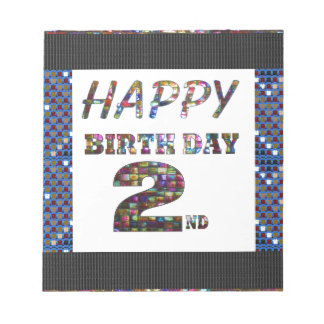 HappyBirthday 2nd Text Scratch Pad