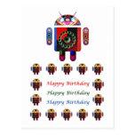 HappyBirthday ANDROID Happy Birthday Postcards