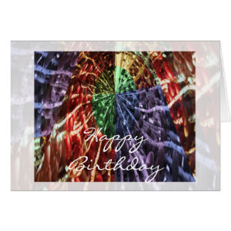 HappyBirthday : Cosmic Energy For You Card
