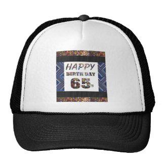 happybirthday happy birthday 65 sixtyfive  65th trucker hat