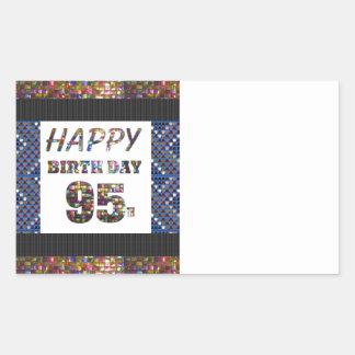 happybirthday happy birthday greeting text quote rectangular sticker