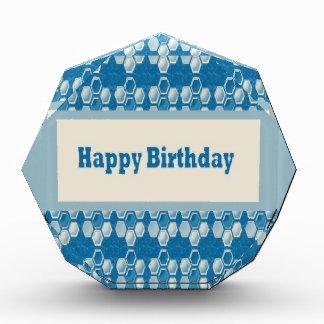 HAPPYbirthday happy+Birthday Greetings Celebration Acrylic Award