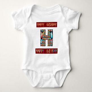 HappyBirthday Script  - ALPHA Alphabet Decorative Tees