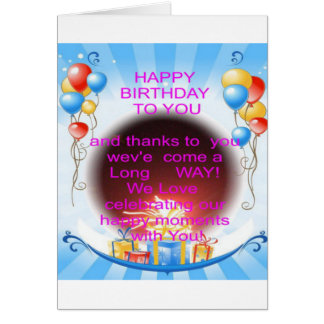 HappyBirthday To you Card