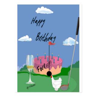 HappyBirthDaybywebbie Postcard