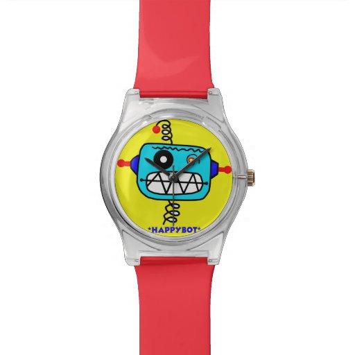 HappyBot Robot Watches