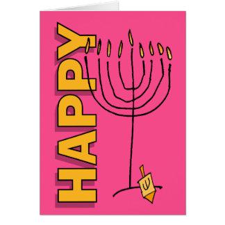 HappyChanukah101 Tarjeta De Felicitación