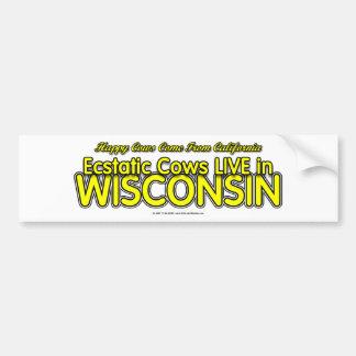HappyCows Car Bumper Sticker