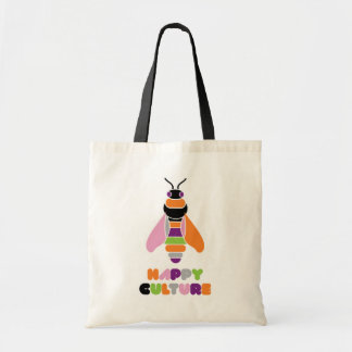 Happyculture Honey Bee Budget Tote Bag