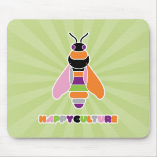 Happyculture Honey Bee Mouse Pad