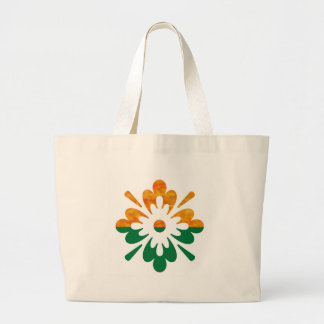 HappyDance Flower : Enjoy n Share the Joy Tote Bag