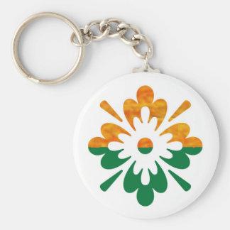 HappyDance Flower : Enjoy n Share the Joy Key Chain