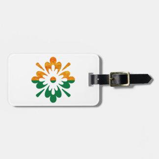 HappyDance Flower : Enjoy n Share the Joy Luggage Tag