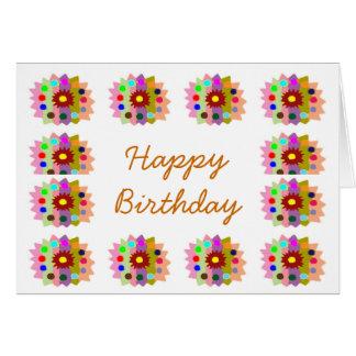 HappyDance Flower : HappyBirthday Happy Birthday Greeting Cards