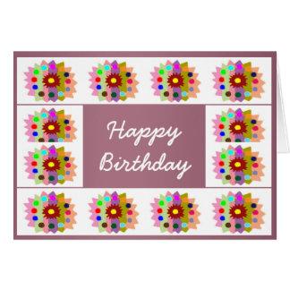 HappyDance Flower : HappyBirthday Happy Birthday Cards