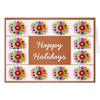 HappyDance Flower : HappyHolidays Happy Holidays Greeting Cards