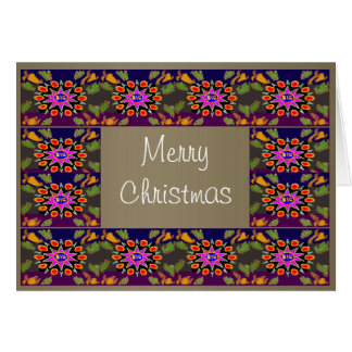 HappyDance Flowers : MerryChristmas Merry Xmas Card