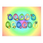 happyeaster3 tarjeta postal