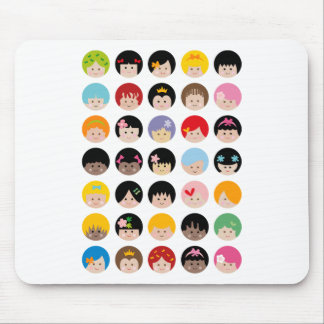 HappyFacesAll Mouse Pad