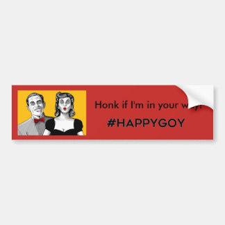 Happygoy Bumper Sticker! Bumper Sticker
