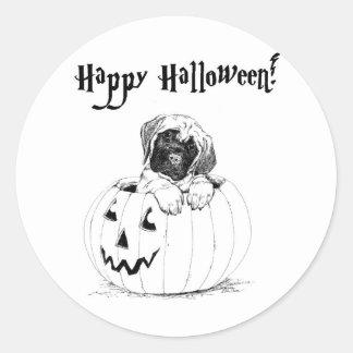 HappyHalloween Round Sticker