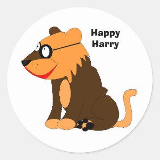 , HappyHarry Classic Round Sticker