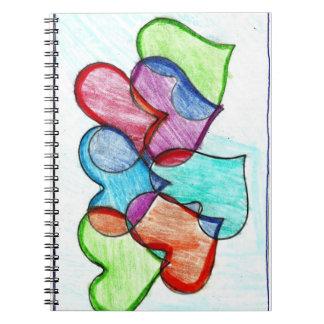 HappyHearts Notebook