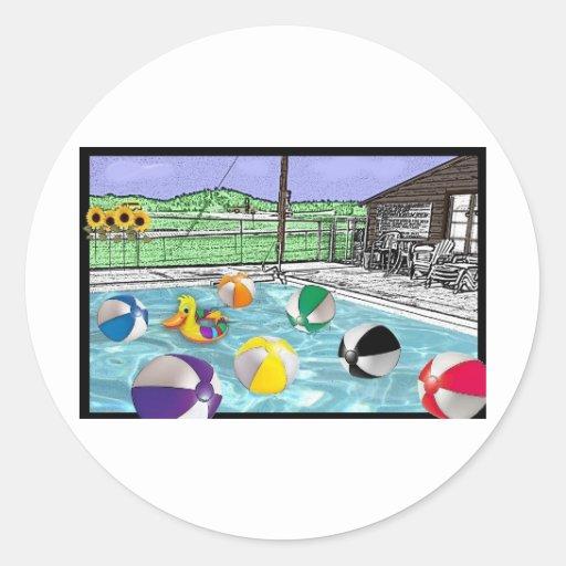 happyholida9.jpg classic round sticker