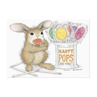 HappyHoppers® Wrapped Canvas