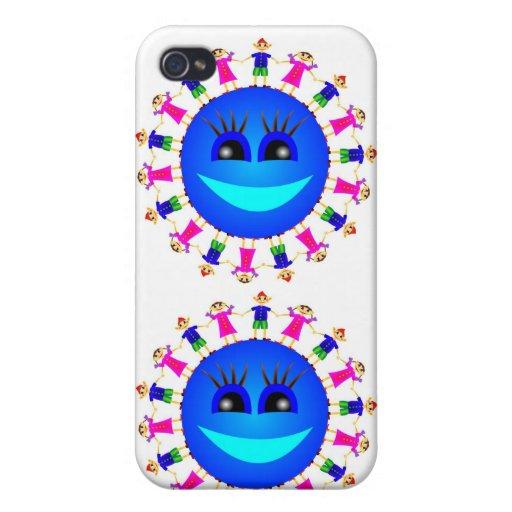 Happyness iPhone 4 Carcasa