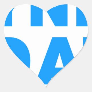 Happyness Is Mandatory Heart Sticker