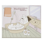 Happyness Quotation 10 Poster Print