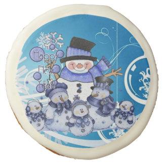 happyNewYear Sugar Cookie